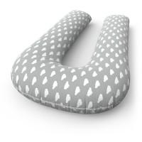 Подушка для беременных U + наволочка Cloud Grey